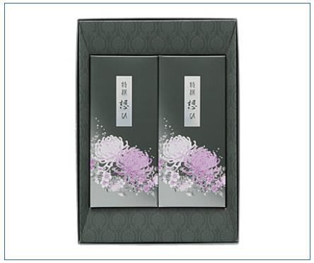 線香「特撰 想ひ」(おもい) 電報台紙料金:4,000円(税抜)