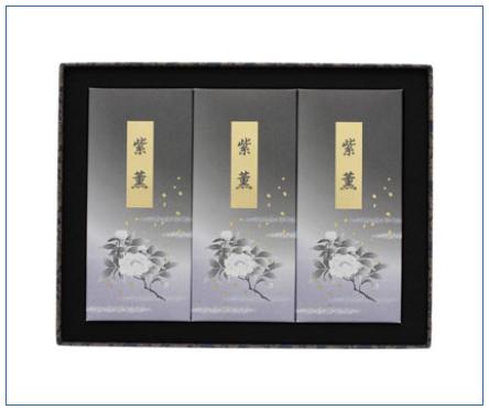 線香「紫薫」(しくん) 電報台紙料金:6,000円(税抜)